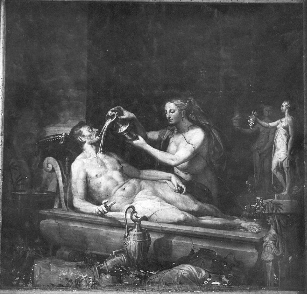 Medea ringiovanisce Esone, Pellegrino di Tibaldo de Pellegrini