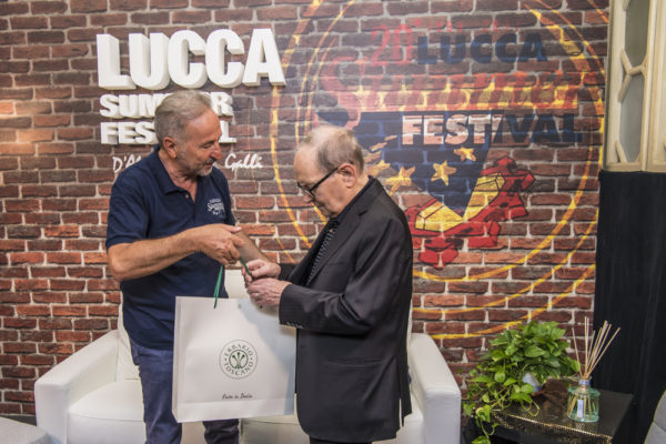 Il Maestro Ennio Morricone at Lucca Summer Festival