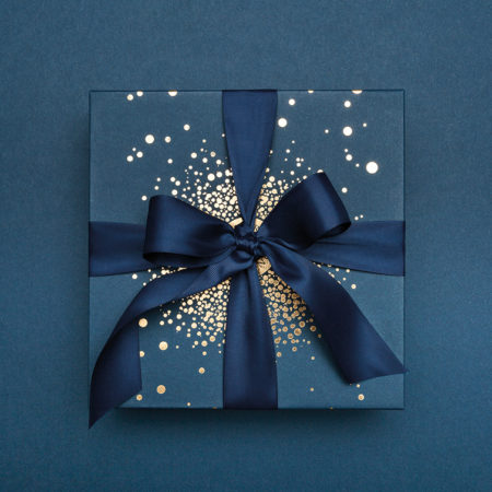 Confezione regalo natalizia