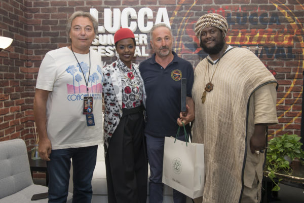 Lauryn Hill at Lucca Summer Festival